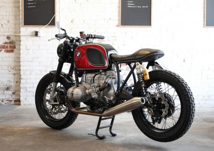 moto BMW préparée