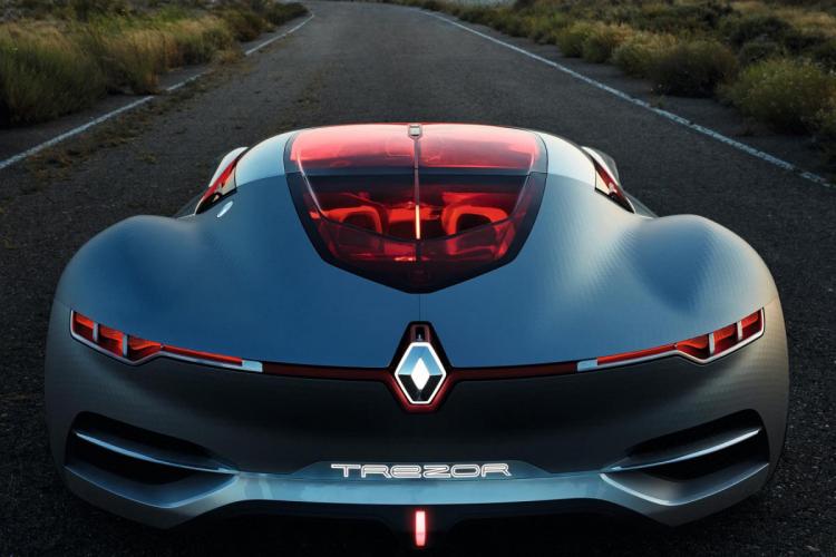 signature lumineuse LED Renault
