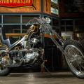 Chopper harley-davidson
