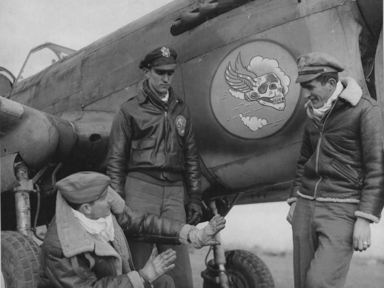 blouson en cuir aviateur