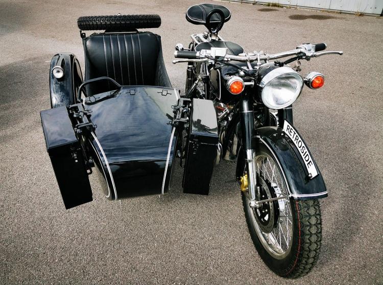moto chinoise attelée