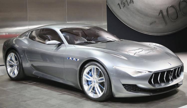 Maserati Alfieri : voiture électrique