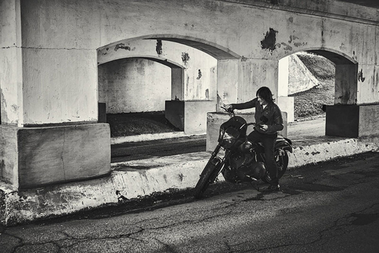 Norman Reedus Harley Dyna Club