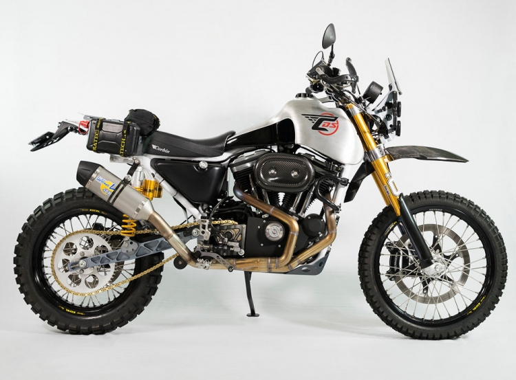Harley-davidson trail bike