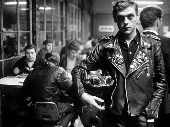 Rocker ou leather boy