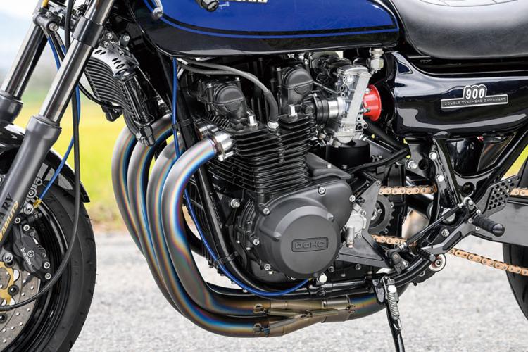 quatre cylindres japonnais moto