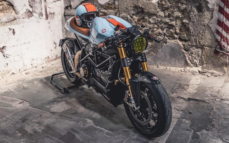 Café racer moto