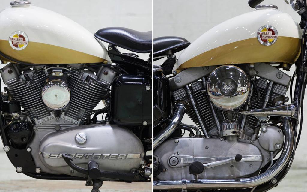 Sportster 883 ironhead