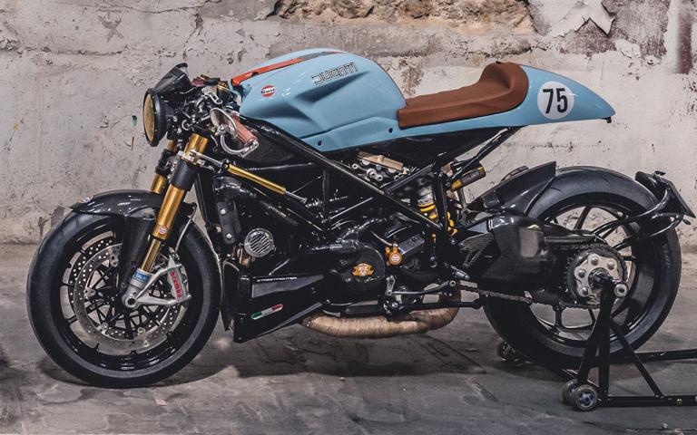 ducati streetfighter 1098 cafe racer