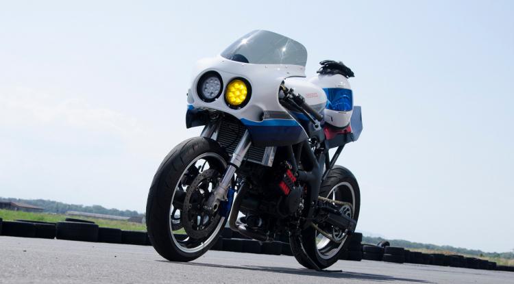 Suzuki SV 650 cafe racer