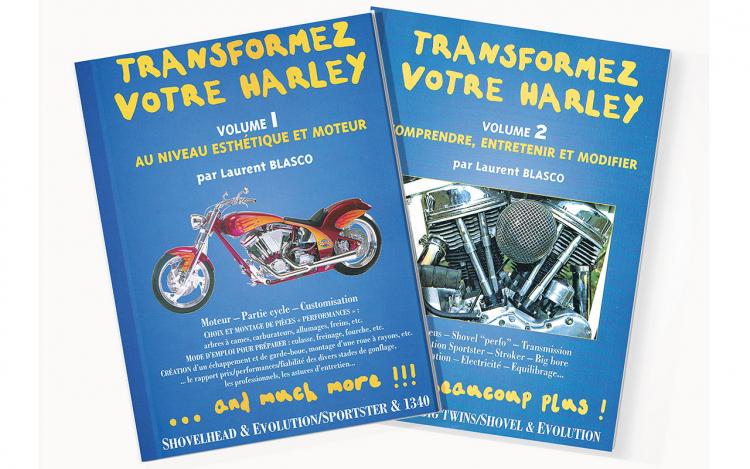 Livres mécanique Harley-Davidson