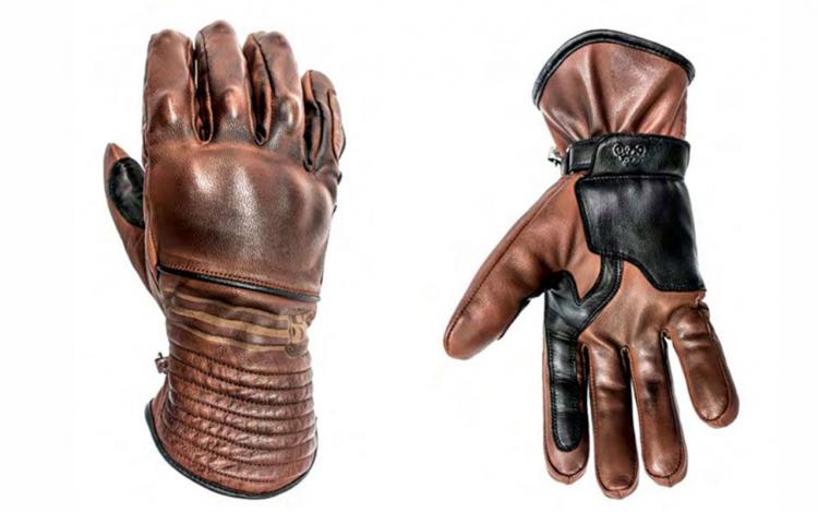 équipement moto vintage : gants moto