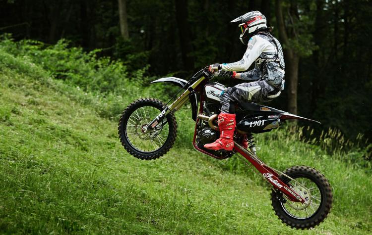 montée impossible moto
