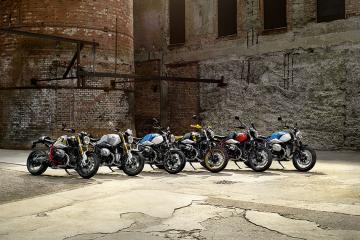 BMW R nineT gamme 2021