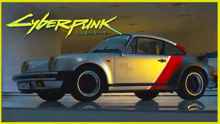 Cyberpunk car
