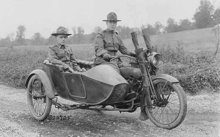 Harley-Davidson première guerre mondiale