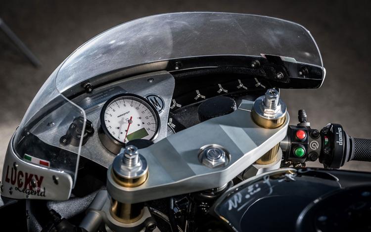 poste de pilotage moto