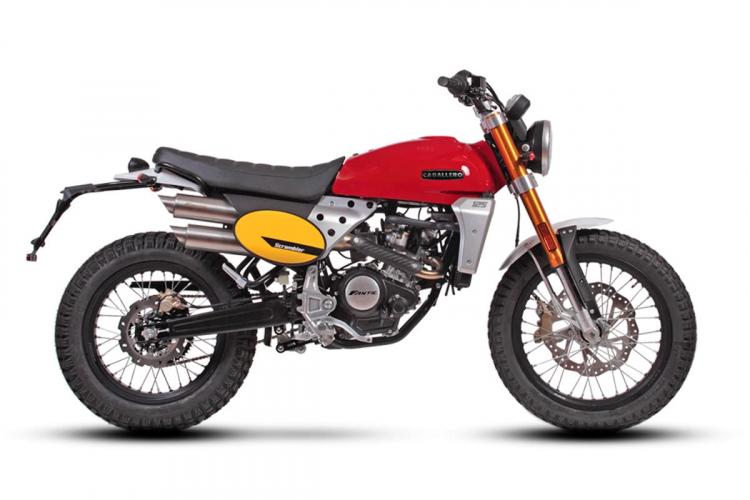 Fantic Caballero scrambler 125 cc