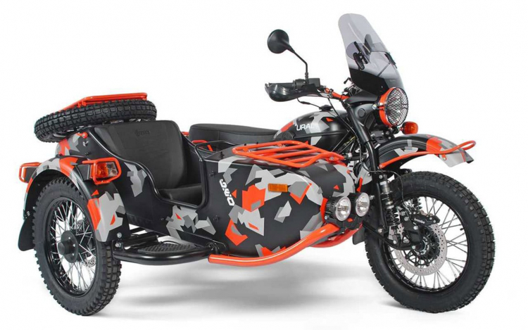side car IMZ-Ural Gear Up GEO