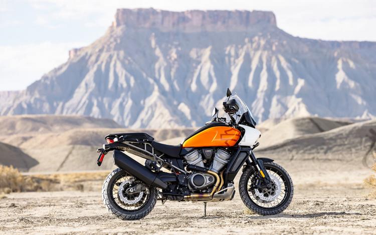 Gros trail Harley-Davidson