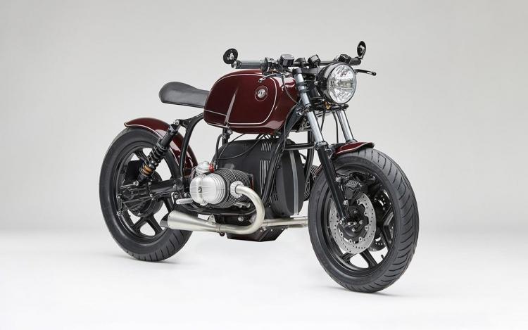 BMW serie R préparation vintage