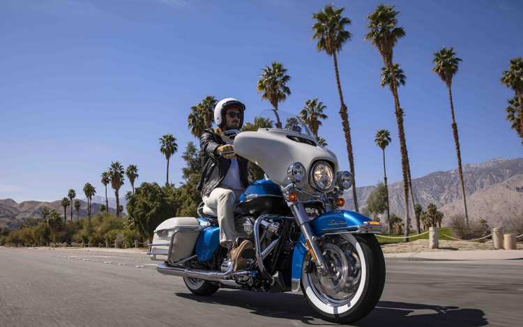 biker en californie
