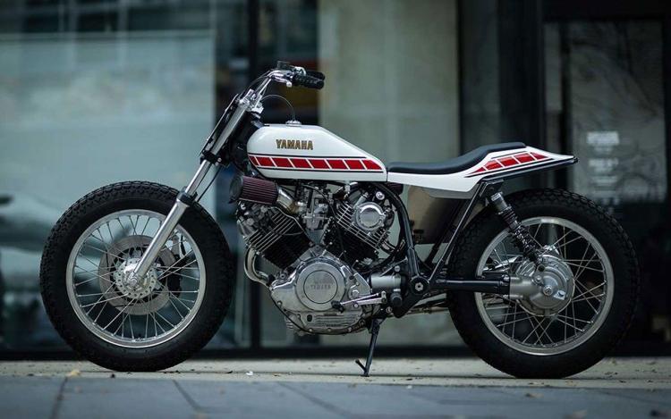 préparation Yamaha XV 750 Virago