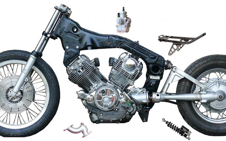 Yamaha Virago XV kit