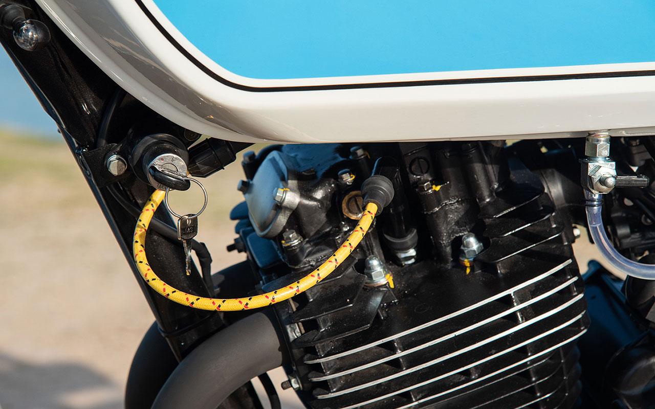 monocylindre Honda 500