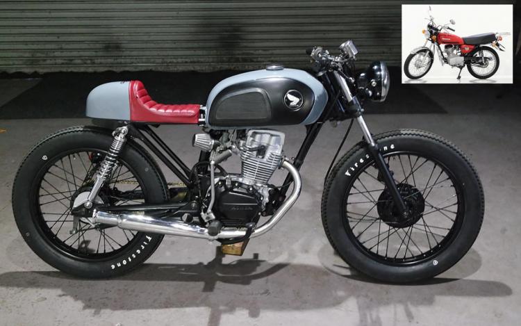 Honda CG125 Café racer