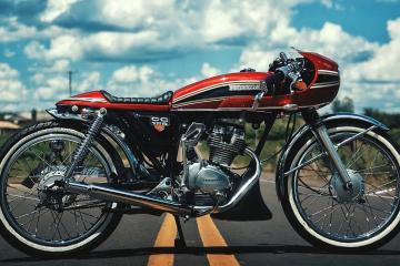 125 cc cafe racer