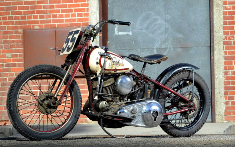 Harley-Davidson Flathead bobber