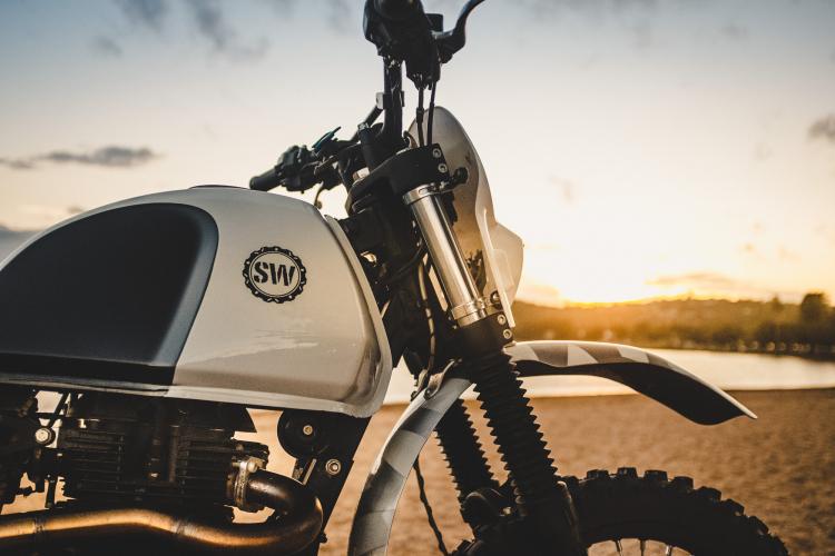réservoir moto
