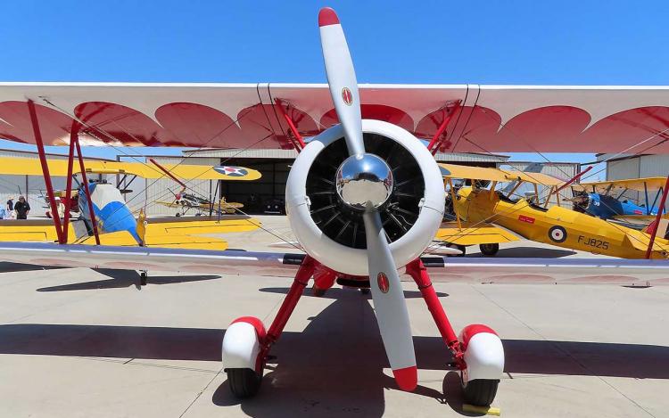 moteur d'avion en étoile