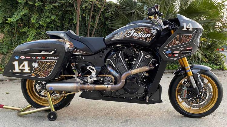 Indian Challenger Bagger par RSD