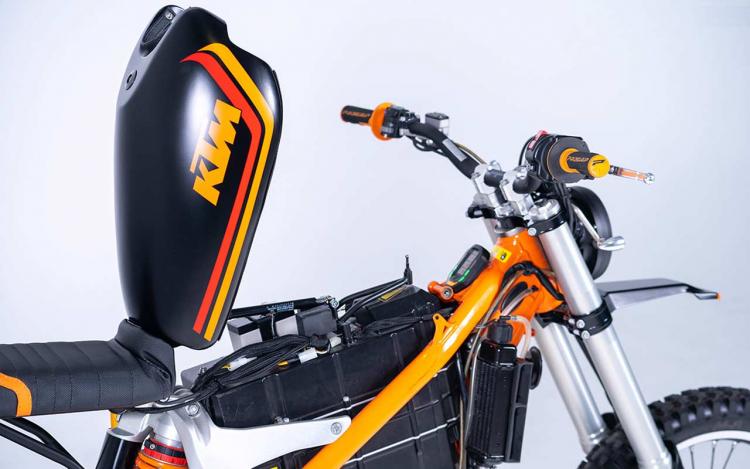 Moto électrique tout-terrain